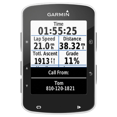 010-01369-00 Garmin Edge 520 GPS HRM Bundle ordinateur de vélo