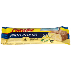 Barre PowerBar Protein Plus Reduced in Carbs vanille