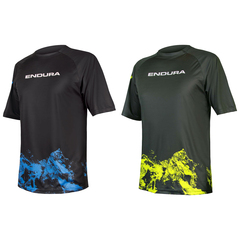 Maillot Endura Singletrack Print T Mountains Limited 2018