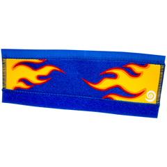Protège base Bike Ribbon flamme bleu