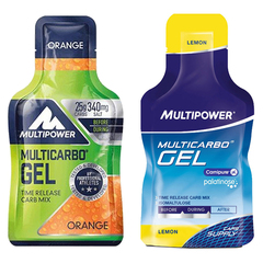 Complément alimentaire Multipower Multicarbo Gel Isomaltulose