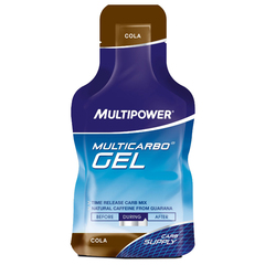 Complément alimentaire Multipower Multicarbo Gel cola guarana